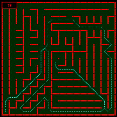 UK Micromouse contest finals maze 2013