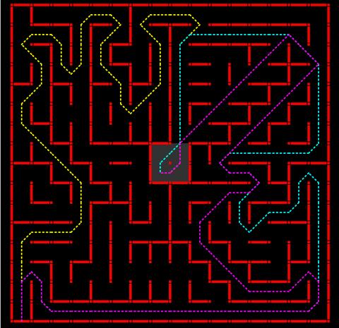 UM Nov 2017 contest maze